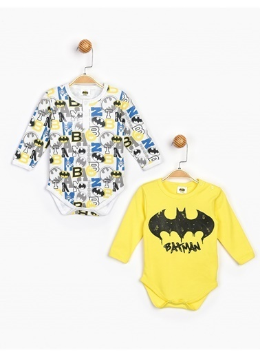 Batman  2'Li Uzun Kol Body 16405 Sarı